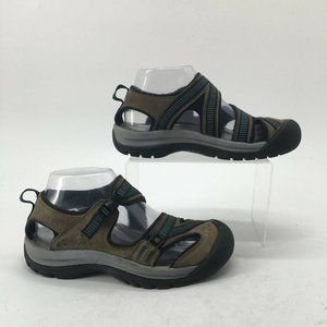 KEEN Womens 6.5 Casual Outdoor Hiking Sandals Brow